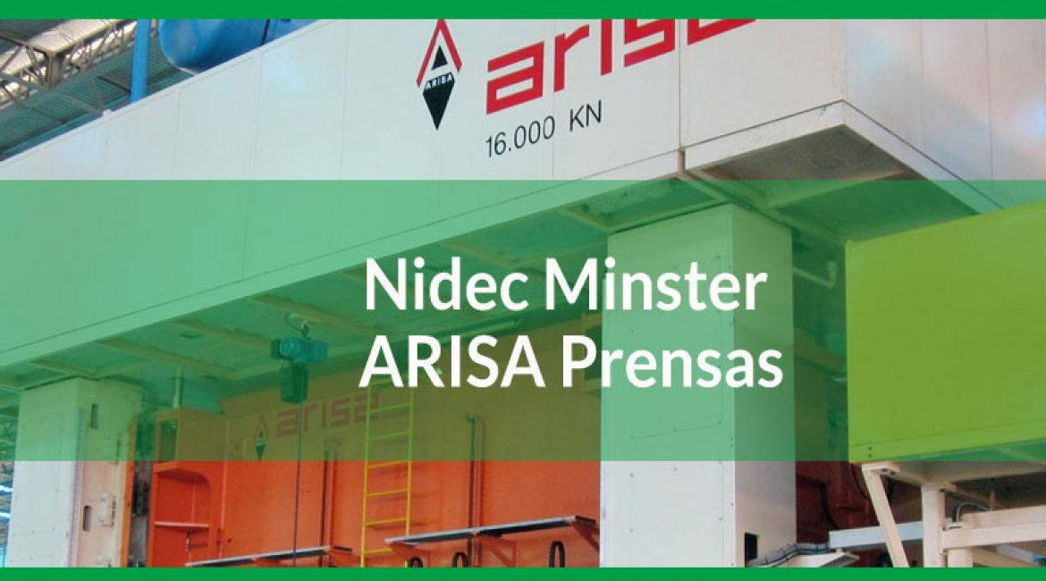 Nidec Minster ARISA Prensas