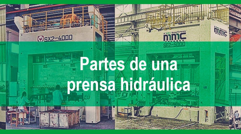 Las 12 partes de una prensa hidráulica más importantes